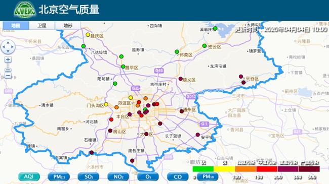 沙尘进京!北京东部南部今有浮尘 城区受影响