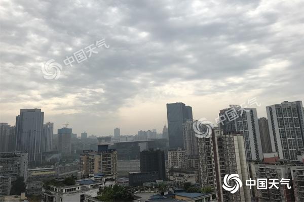 """重庆今夜起雷雨天气""""上线""""局地有暴雨 气温将现""""二连降"""""""