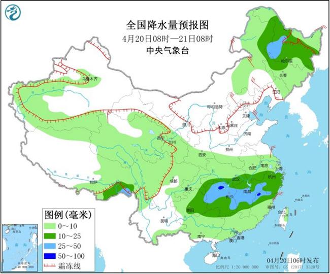"""""""全能型""""冷空�獾剑""""狈健�Q季式""""降�� 南方暴雨""""���稹�"""