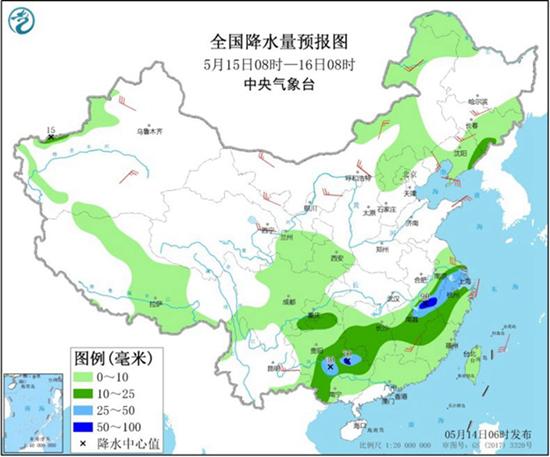 南方【6省份】有大到暴雨 北方多地昼夜温差达20℃