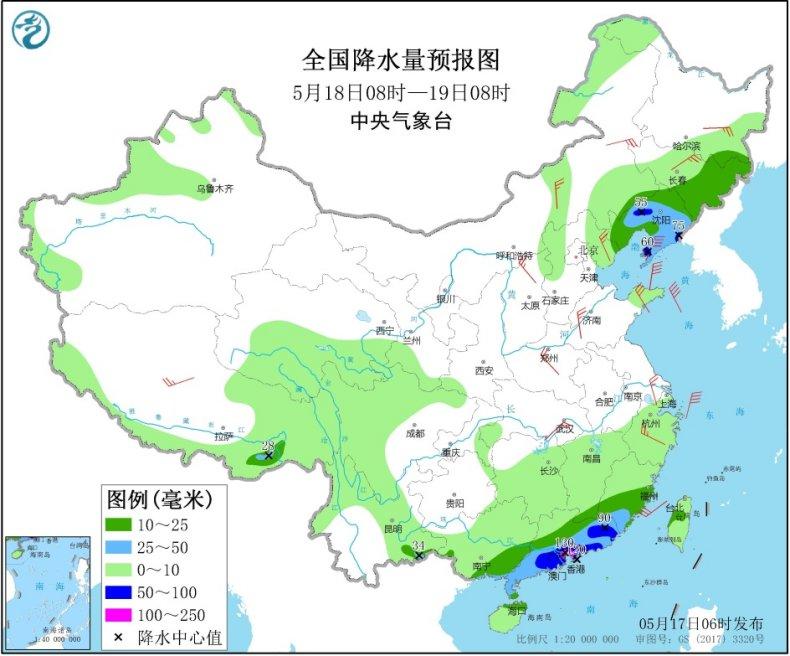 华南等地进入强降雨集中时段 强对流天气频发