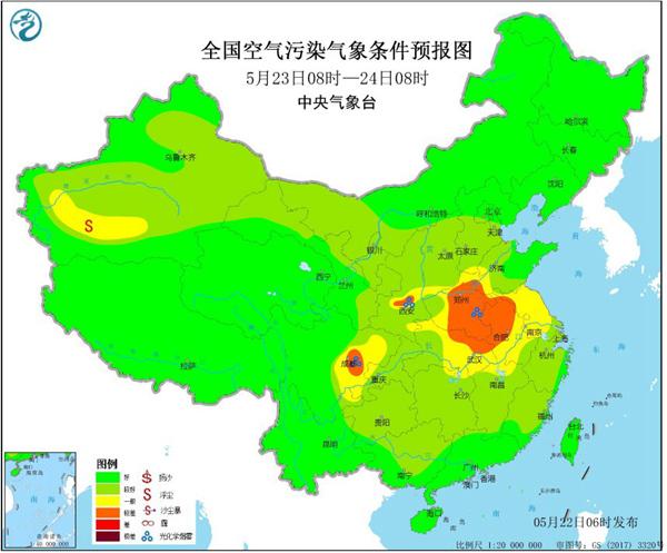 周末高温或影响这六个省份 当心臭氧污染和干热风