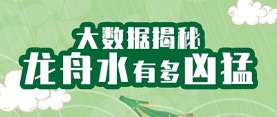 """气象数据揭秘:华南龙舟水到底有多""""凶猛"""""""