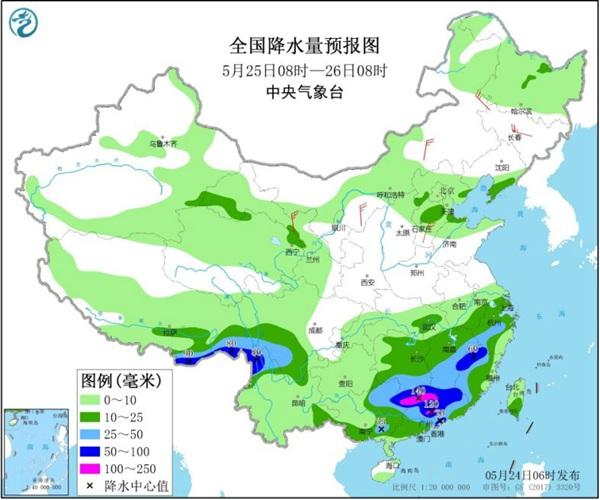 南方新一轮强降雨登场 伴有大范围降温