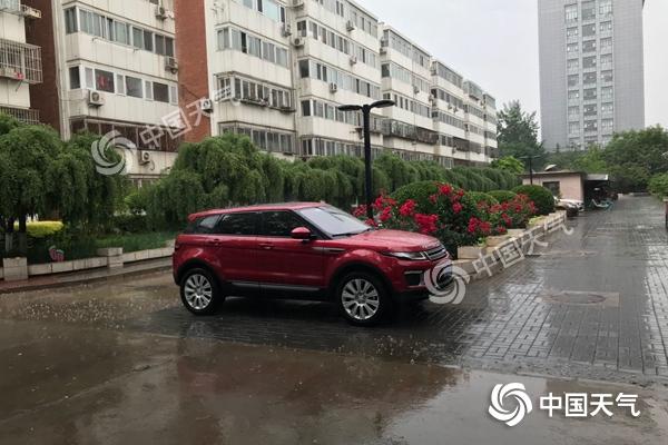 雷电大风双预警!北京雷雨10时基本结束 雨后转晴阵风7级
