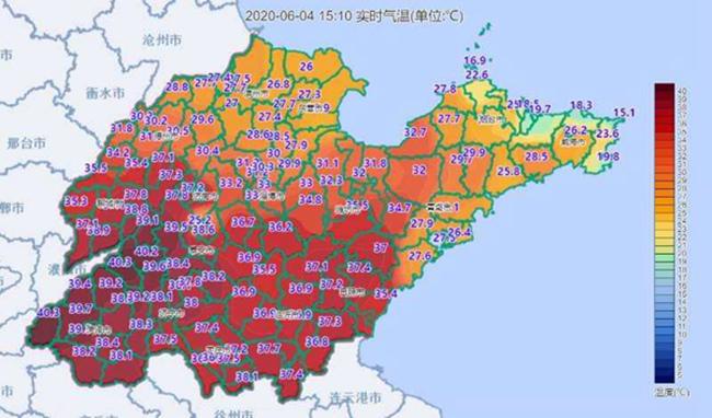 山东东西温差超25℃ 今日为何凉热两重天?