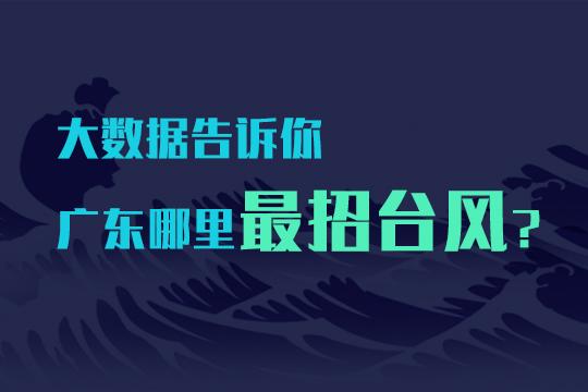 大数据揭秘广东哪里最招台风