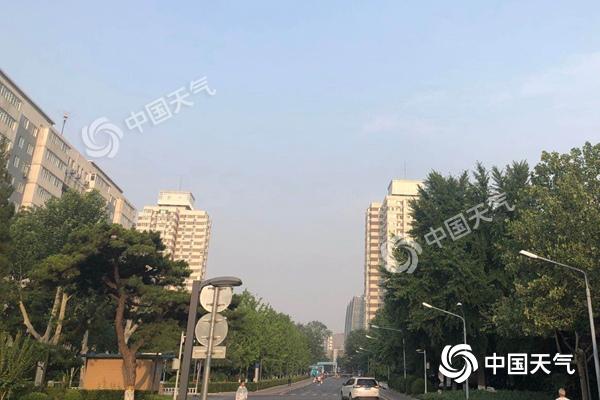 北京今天雷阵雨来袭 夜间风力较大阵风可达7级