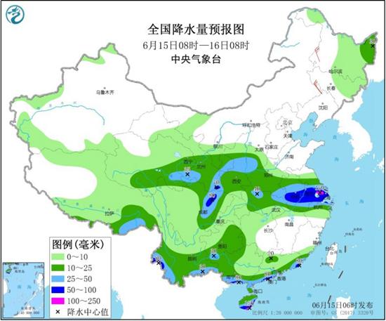 江淮等地新一轮强降雨来袭 京津冀或现持续高温天