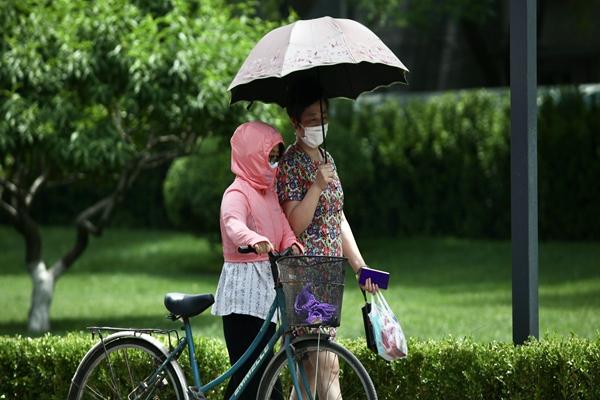 江淮梅雨猛烈今明天達鼎盛 華北局地氣溫超37℃