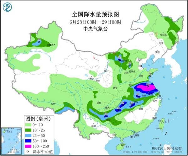 今日起【西北】等地迎新一轮强降雨 华南持续闷热