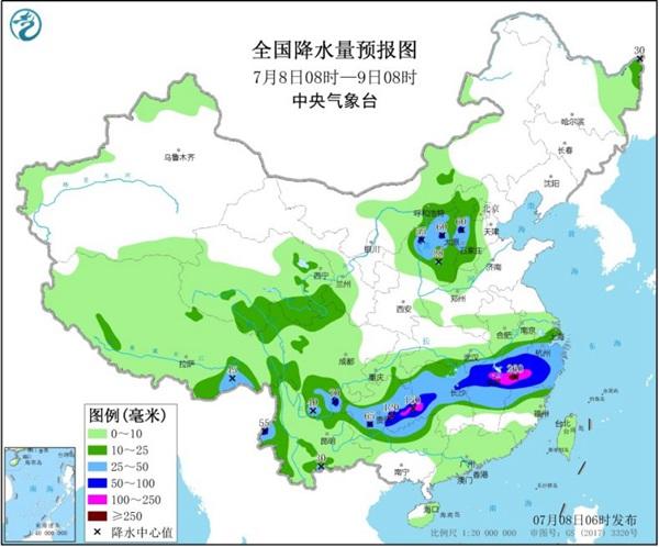 高考防雨!南方强降雨带将南压 华北强对流发展