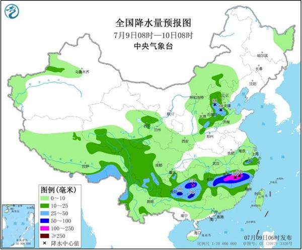 南方【4省】仍有大暴雨 华北大范围降雨来袭