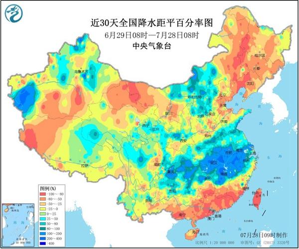 """""""七下八上""""北方防汛关键期 华北东北将有两轮明显降雨过程"""