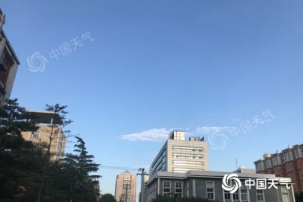 北京今有小到中雨 傍晚前后伴有雷雨大风和冰雹