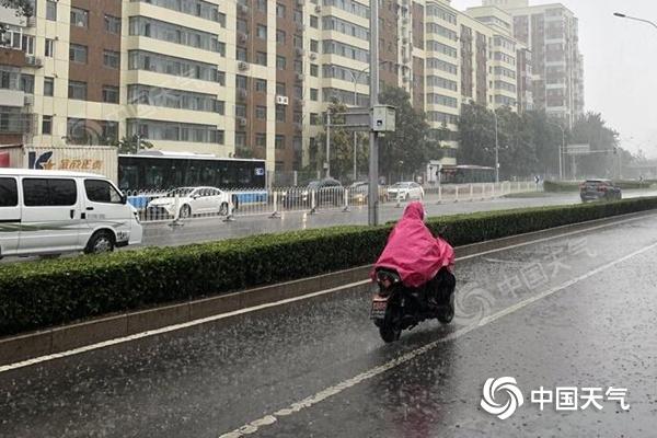 北京10区发布雷电预警 降雨或影响晚高峰