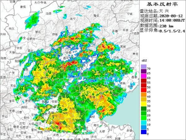 注意下班早点回家!北京雨下大了 夜间将迎降雨最强时段