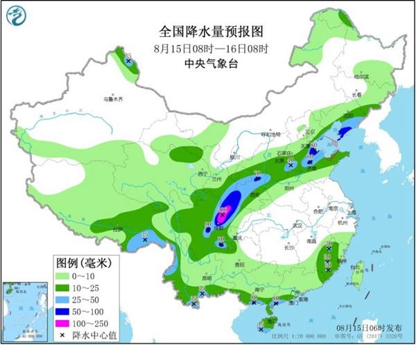 西南华北等地雨水频繁 南方9省会高温持久