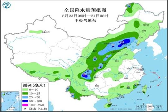 京津冀等地今日雨势加强 南方暑热仍难消
