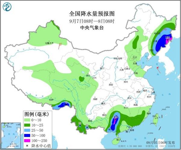 """本周末华西秋雨来袭 台风""""海神""""成今年来""""风王"""""""
