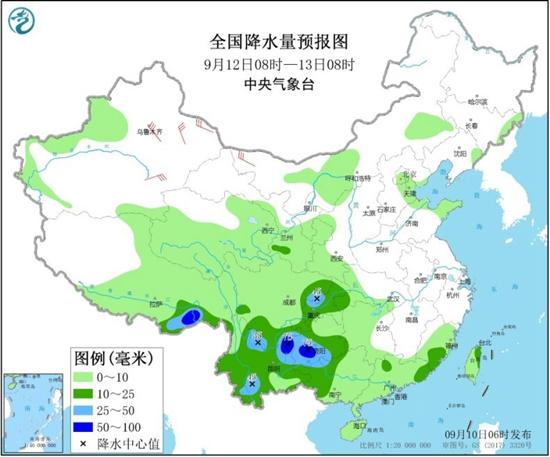 西南等地降雨增强秋意显 北方气温多起伏