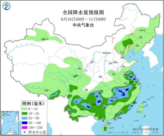 西南等地降雨增強秋意顯 北方氣溫多起伏