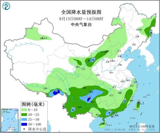 南方阴雨不断西南地区局地暴雨 北方冷空气频繁