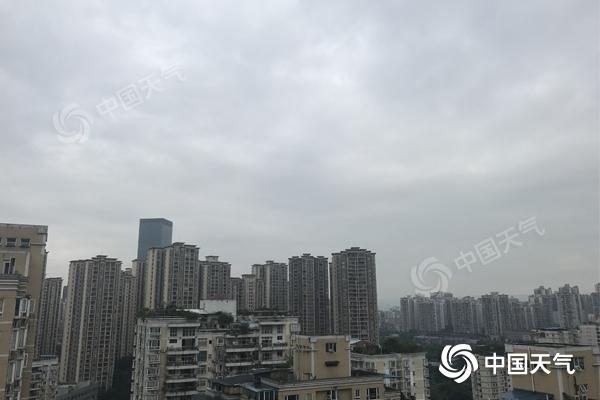 今夜起重庆开启新一轮阴雨模式 部分地区将有暴雨