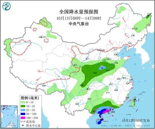 臺風登陸在即華南將掀強風雨 北方大部氣溫將創入秋后新低