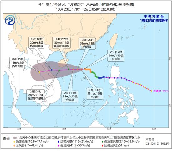 台风黄色预警继续!