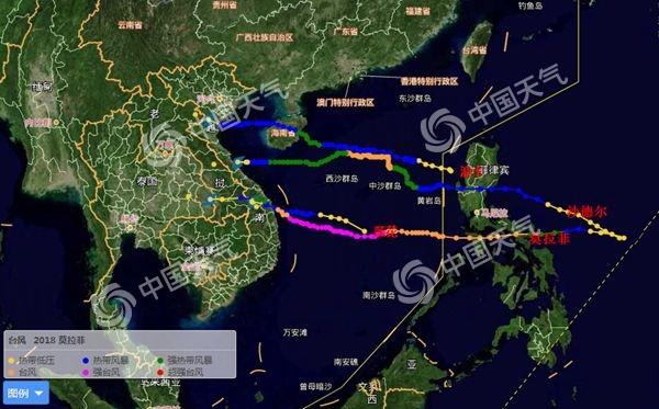又来!10月台风高产 度假天堂三亚日照数建国来最少