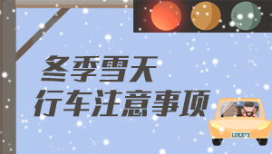 模拟场景告诉你冰雪天刹车有多难?
