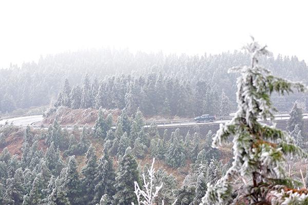 全國大部回溫緩慢 貴州部分地區需防凍雨