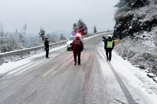 全國大部地區氣溫波動回升 雨雪北少南多