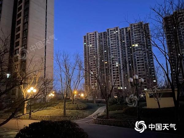 """北京今日晴天在线迎""""四九"""" 白天气温略有回升宜外出"""