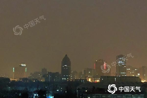 北京今天白天有小雪气温降 后天起还将有冷空气影响