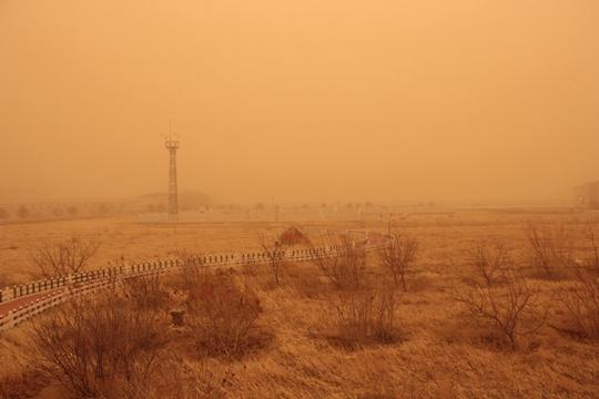 沙尘暴席卷北方6省区市 江南雨势将增强