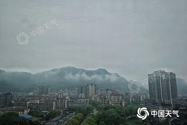 周末湖南大部泡雨中 怀化邵阳益阳等地局地有暴雨