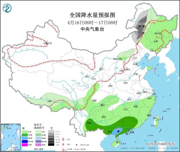 沙尘将南下至长江流域 华南局地有大到暴雨