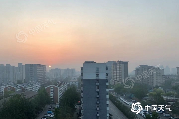 北京阳光回归最高温将重上20℃