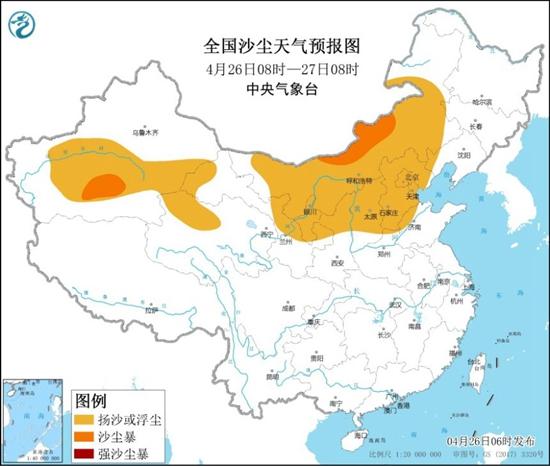南方降雨集中在華南 北方再迎大風降溫