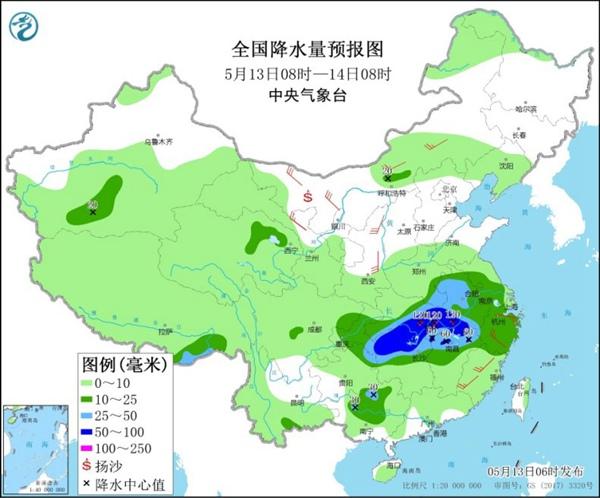 新一轮较强降雨将来袭 江南热度升级