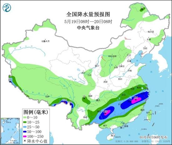 北方多地熱感明顯 南方再迎新一輪降雨