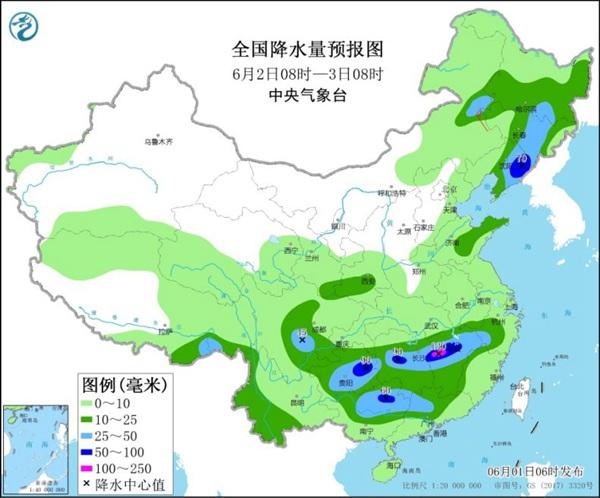 北方多地雷雨频繁 南方明起迎新一轮降雨