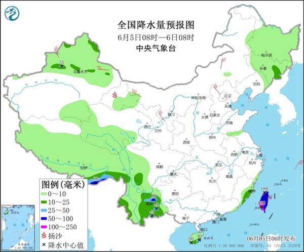 南方大部降雨漸停歇 華北平原高溫增多