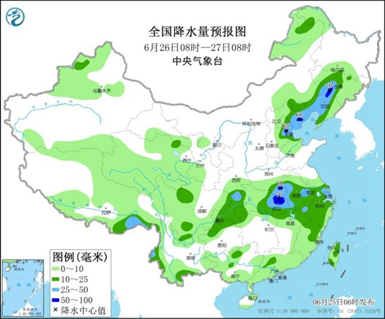华北多雷雨 江南等地新一轮降雨周末开启