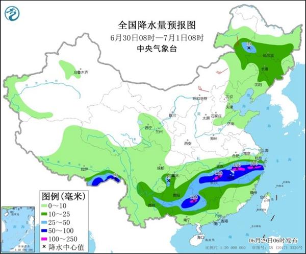 明天南方强降雨范围增大 华北等多雷雨