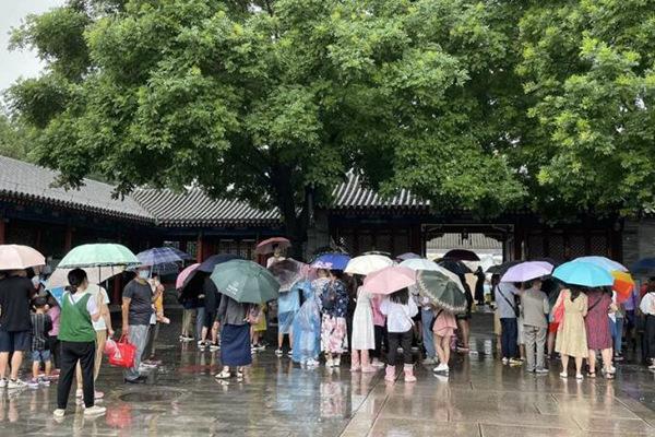 河南等地强降雨持续 南海热带低压或登陆广东