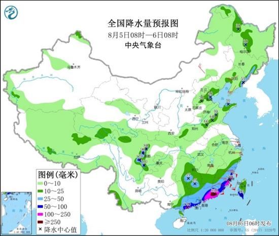 台风登陆在即闽粤等局地大暴雨来袭 四川盆地高温将缓解