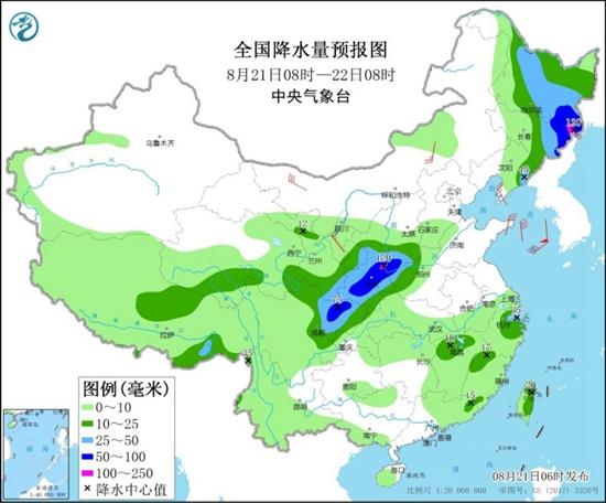 北方兩輪降雨無縫銜接 江南華南有高溫